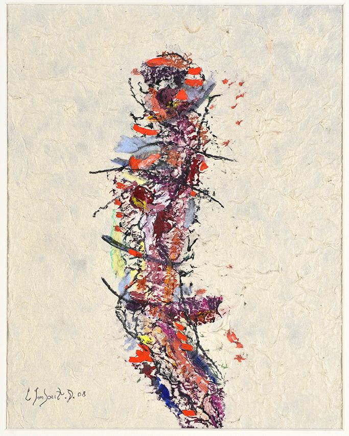 Farces et propositions en traits, 2008, technique mixte, 28 x 30 cm