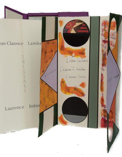Trillali, sur un poème de Jean-Clarence Lambert