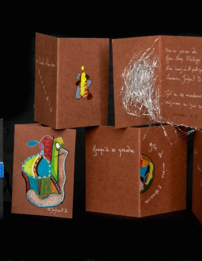 Entracte, 2003, 14 ex sur un poème de Jean-Loup Philippe
