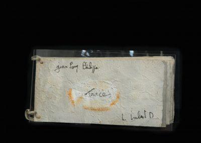 Traces, 2005, 9 ex sur un poème de Jean-Loup Philippe