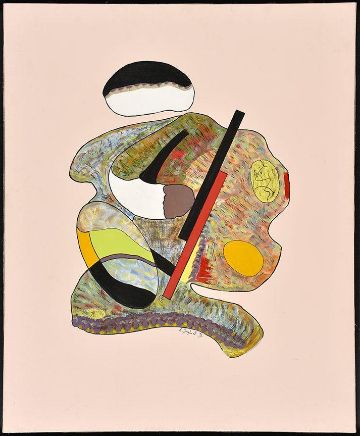 Sumo Sumo, 2013, acrylique, 54 x 65 cm